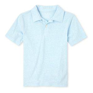 NWT Children's Place Cloud Blue Polo Shirt L 10/12